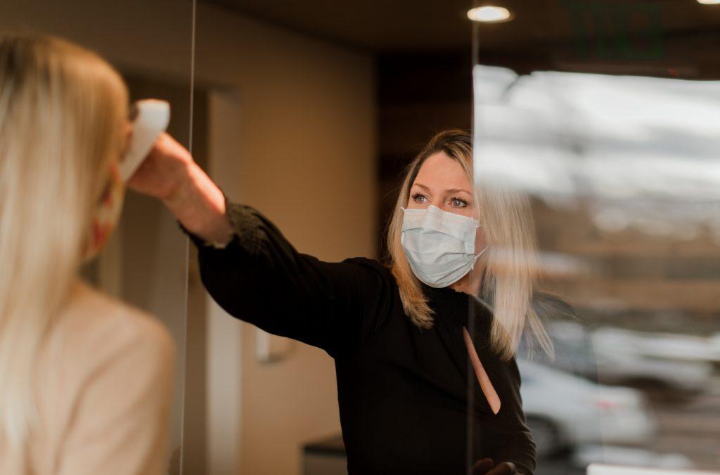 dental covid precautions - temperature screening