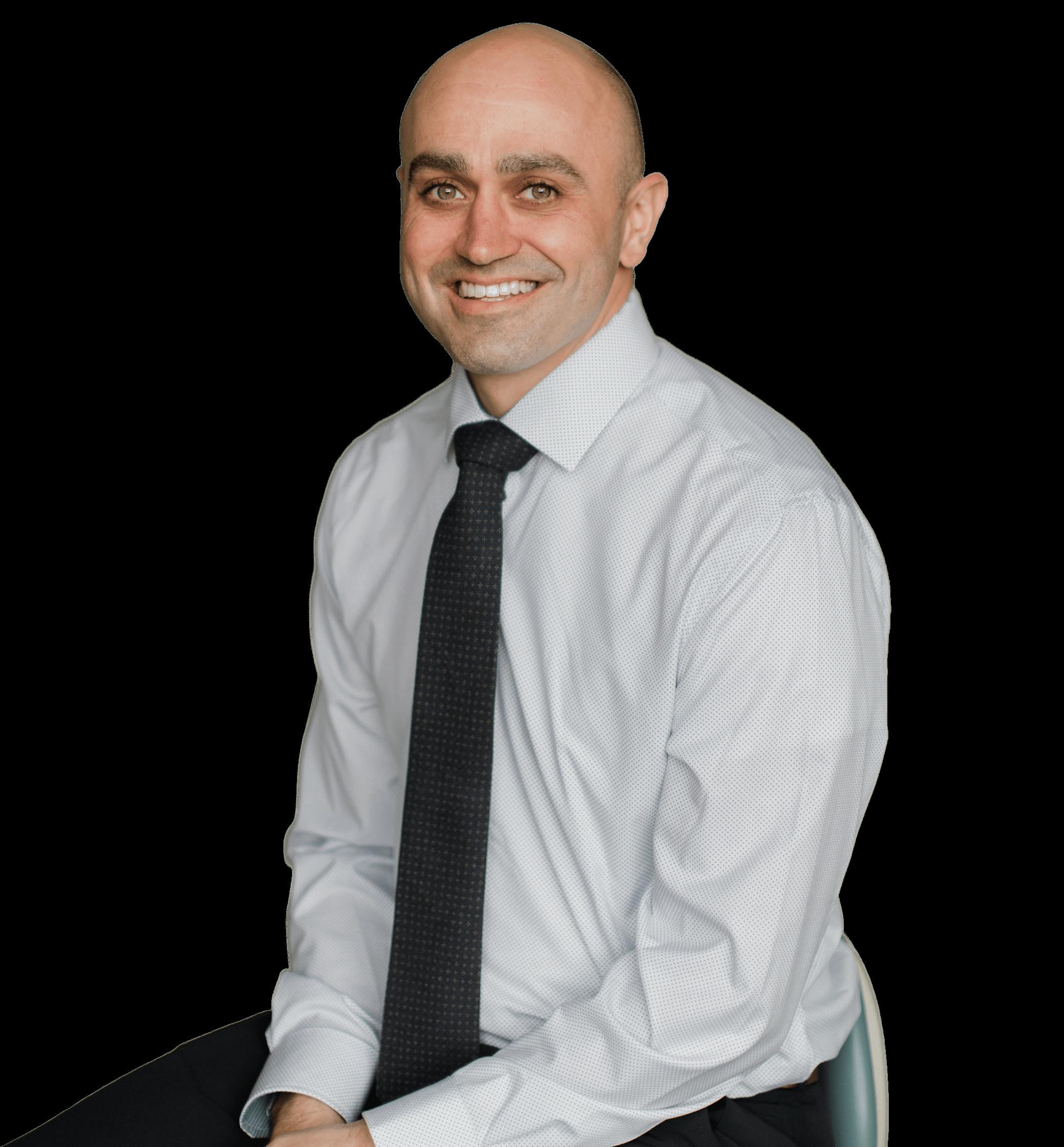 Dr. Aaron Pogue Portrait